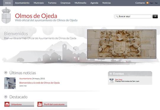 Bienvenidos a la web de Olmos de Ojeda